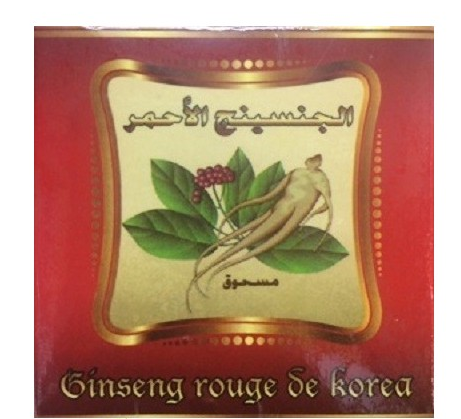 ginseng rouge de korea