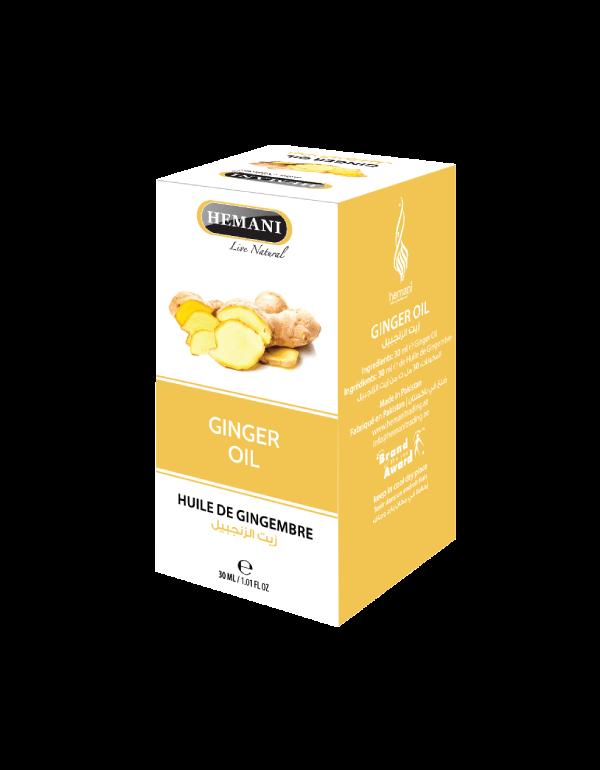 le bien fait de  l'huile de gingembre