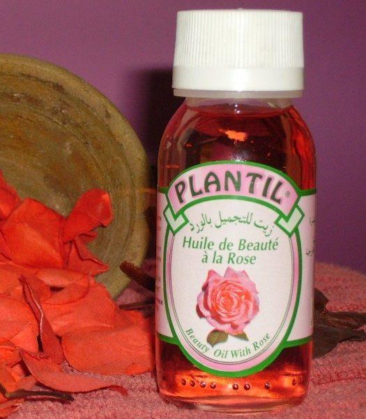 Huile De Beauté à La Rose – PLANTIL Volume : 60 ml