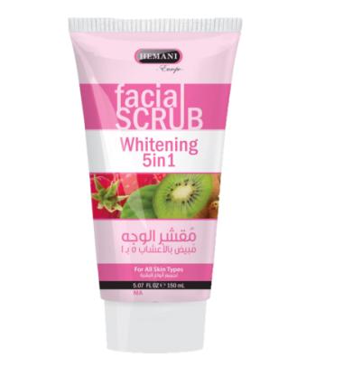 Gommage facial blanchissant 5 sur 1 -150ml – HEMANI