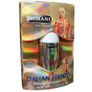 Roll on de massage Dahan Hanzal HEMANI ( 50 ml )