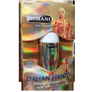 Roll on de massage Dahan Hanzal HEMANI ( 50 ml )
