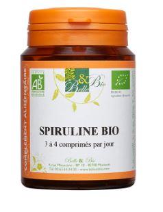Spiruline Bio 200 comprimés
