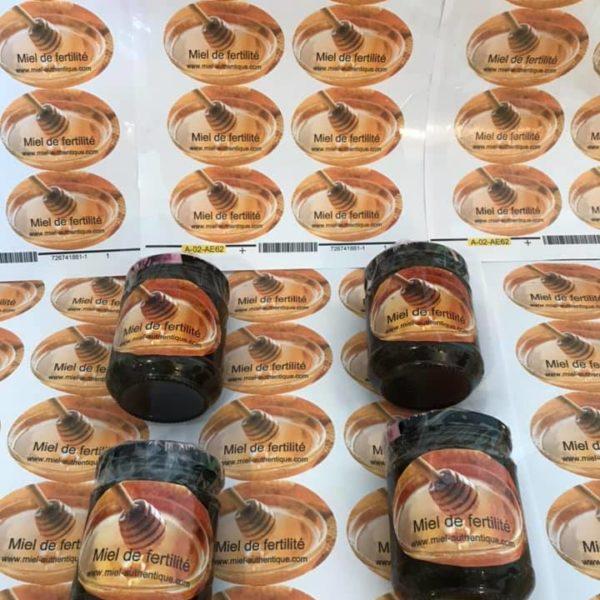 miel de fertilité 3 pots achetés le 4 ème offert