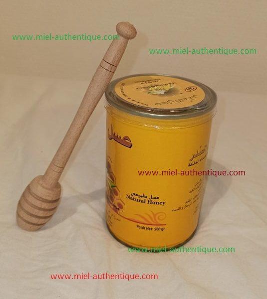miel de sidr (jujubier) avec gelée royal 500 g 100/100 naturel