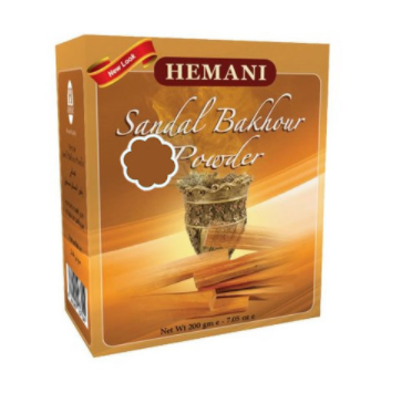Encens de bois de Santal en poudre – Sandal Bakhour Powder (200g)