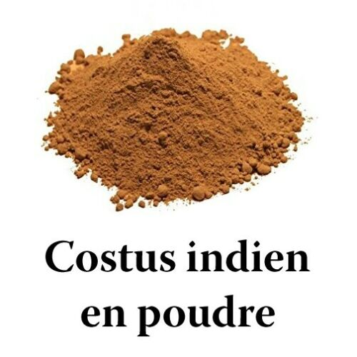 Costus Indien en Poudre HEMANI 200g 100% Naturel