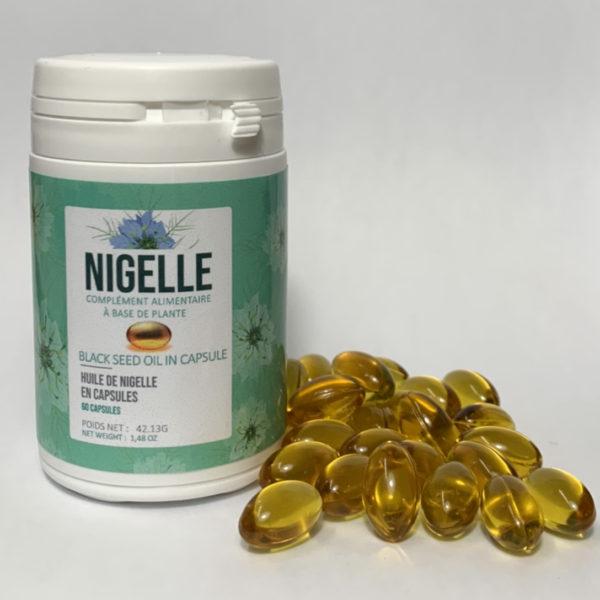 Gélules végétale de  Nigelle (huile de nigelle)