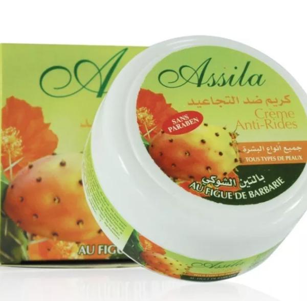 Crème hydratante anti-age à l'huile de figues de Barbarie