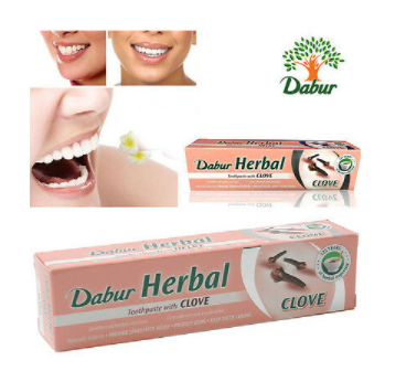 Dentifrice au clou de girofle Herbal sans Fluor 155gr