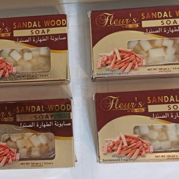 SAVON SANDAL WOOD 100G 3 achetés le 4eme offert